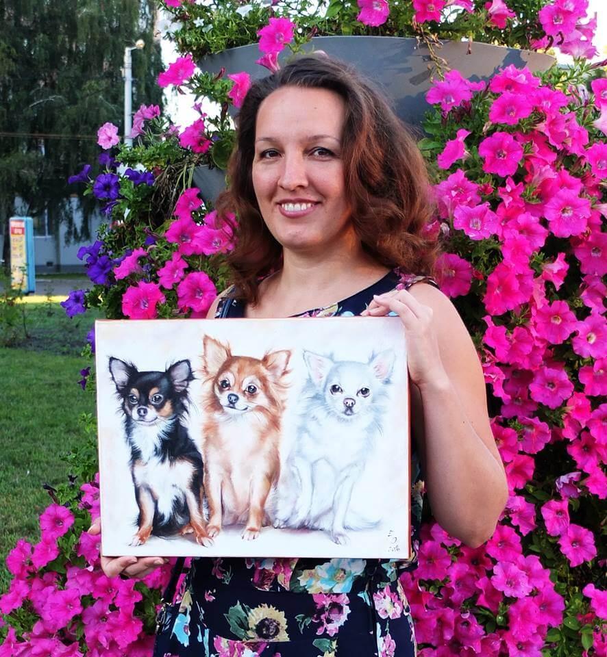 Artist Olesya Ermolaeva