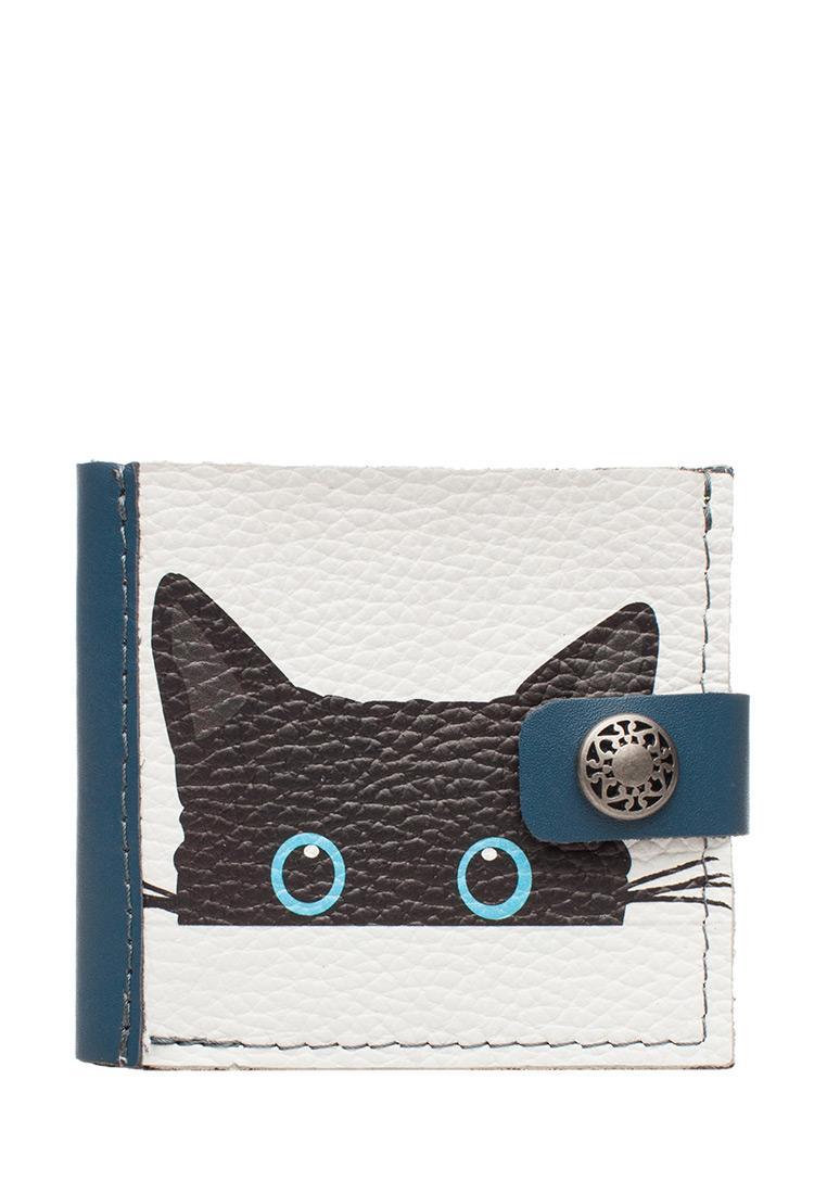 Портмоне Slim Meow, blue.