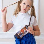 Детская сумочка с рыжей лисой