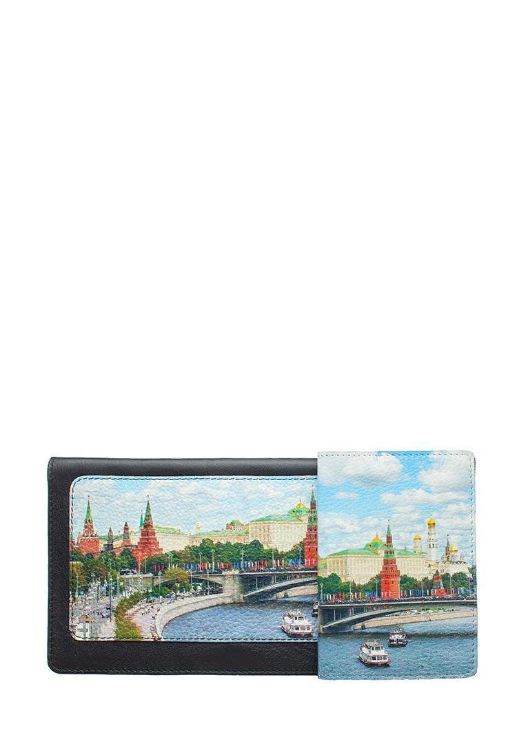 Комплект для путешествий «Кремль, Каменный мост », цвет черный