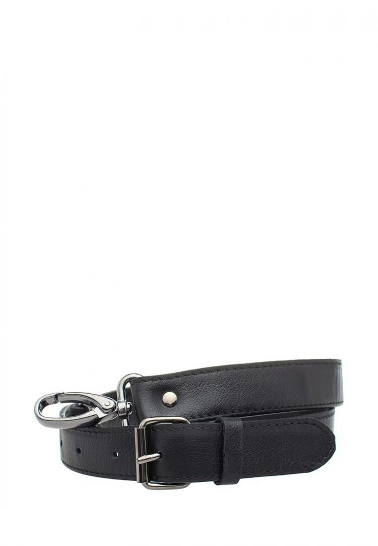 Ремешок для сумки Eshemoda, натуральная кожа, цвет коричневый