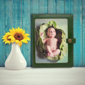 Папка для документов с семейной фотографией