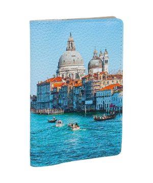 Обложка для автодокументов с изображением Венеции