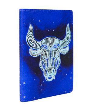 Обложка на автодокументы с изображением быка