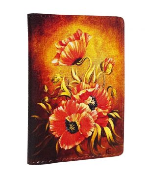 Обложка с яркими цветами