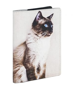 Обложка с сиамским котом