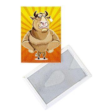 Сувенир с символом 2021 года быком