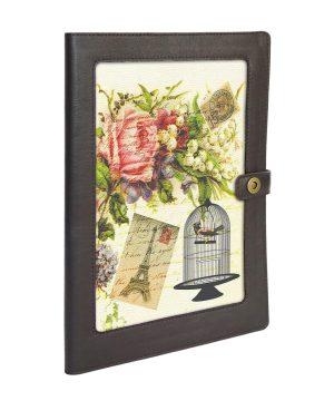Папка для семейных документов с цветами