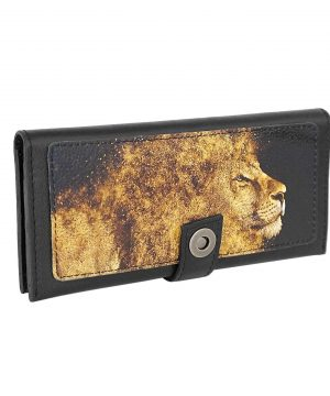 Кошелек со львом