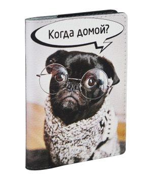 Забавная обложка с собакой